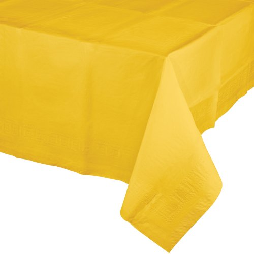 Creative Converting Banquet School Yellow