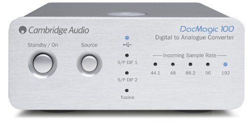 Cambridge - DACMagic 100 (Silver) by Cambridge Audio