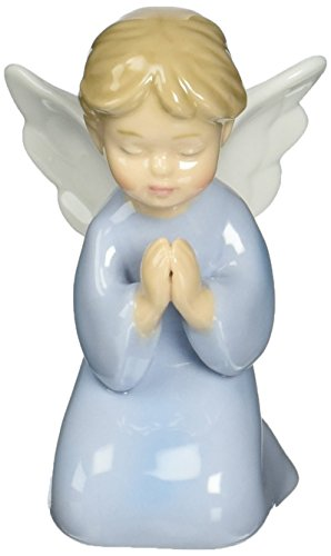 (Cosmos 10321 Fine Porcelain Praying Boy Angel Figurine, 3-3/8-Inch)