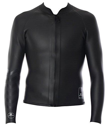 2mm Men's Billabong PUMP'D Smooth Jacket - Black, XL by Billabong