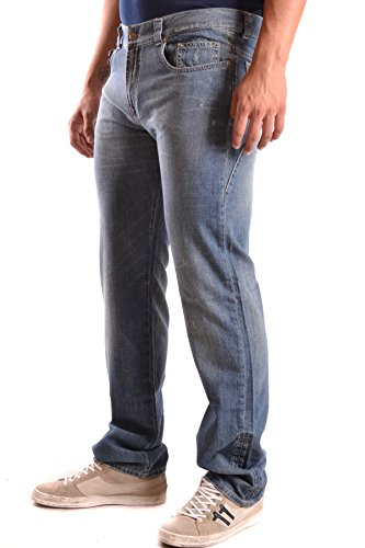 Costume National Homme MCBI074072O Bleu Coton Jeans