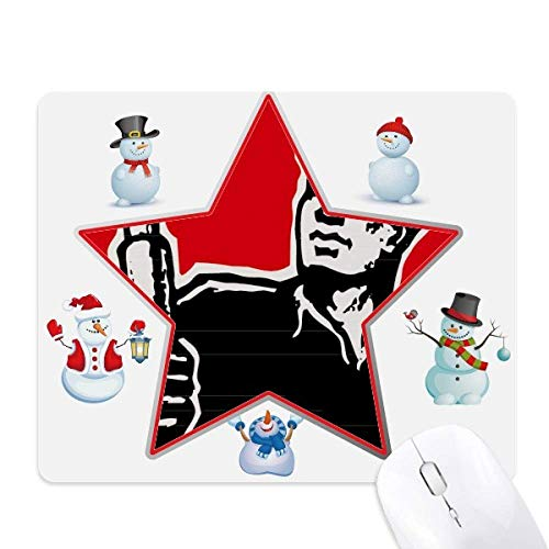 - Pen Book Hat Red Patriotic Christmas Snowman Family Star Mouse Pad