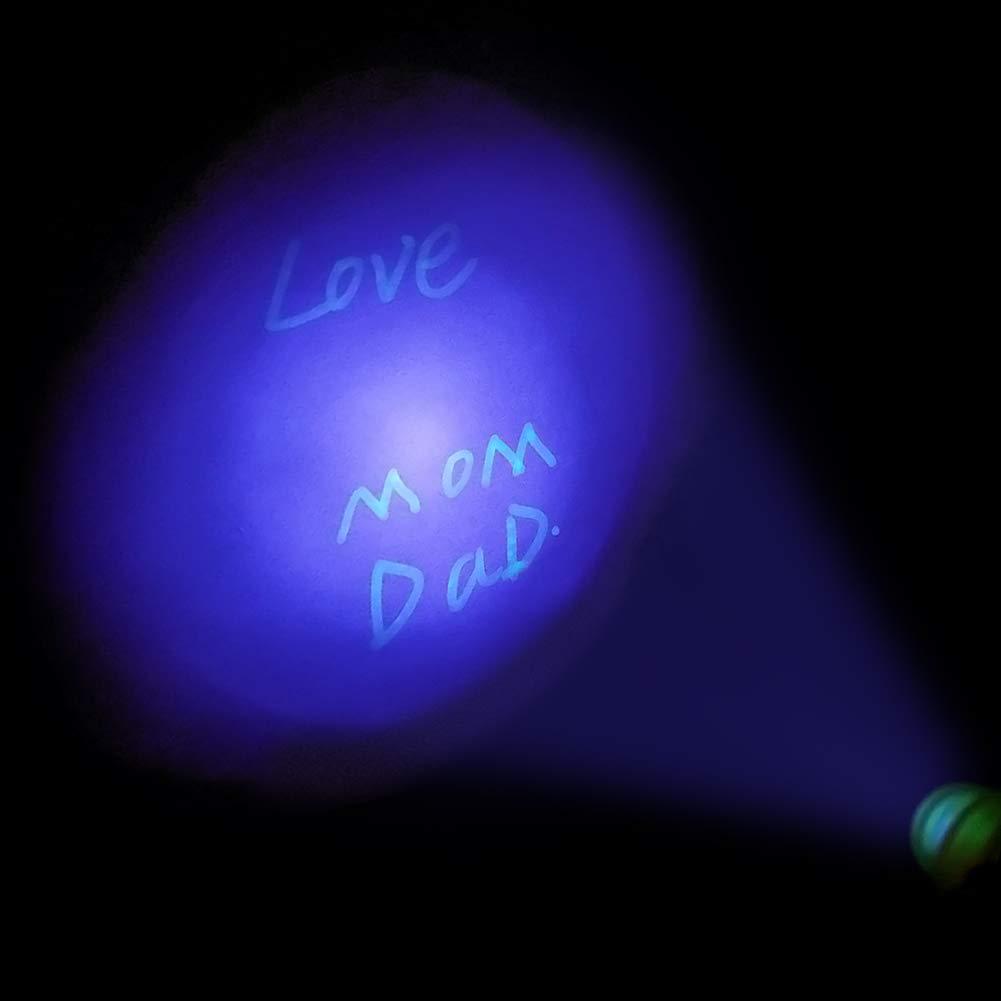 con luce UV integrata e marchio di sicurezza Set di 18 pennarelli invisibili per bambini