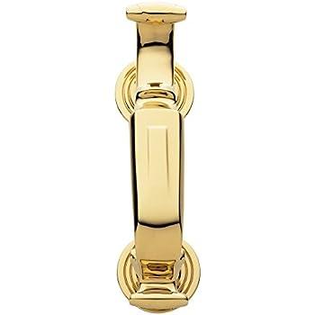 Baldwin 0113.003 S Shaped Door Knocker, Lifetime Polished Brass