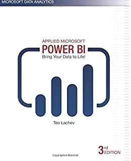 Amazon applied microsoft power bi bring your data to life applied microsoft power bi 3rd edition bring your data to life fandeluxe Gallery