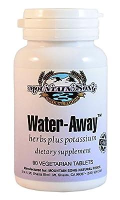 Water Away Herbal Diuretic Water Pills