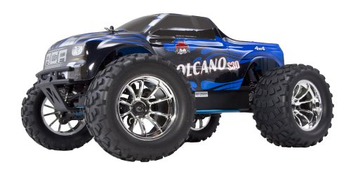 Redcat Racing Nitro 2.4GHz Volcano S30 Truck, 1/10 Scale, Blue/Silver (Rc Nitro Start)