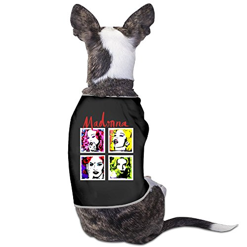 Confession Box Costume (PET-Cool Madonna Pop Art European Tour Pet Dog Clothes.)