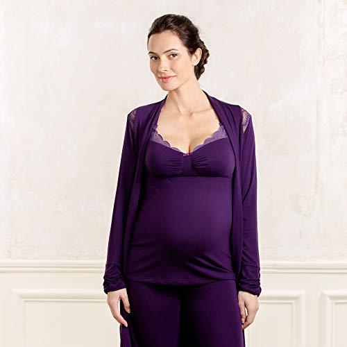 Cache da Donna Coeur Viola Serenity My Blueberry Premaman Notte Abbigliamento OrSOWqZc4