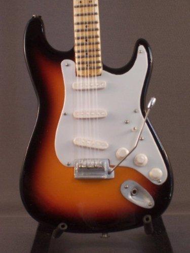 Mini Guitar ROBIN TROWER Sunburst Model GIFT by Little Shop Guitars