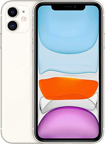 Apple iPhone 11 64GB – White – Unlocked (Renewed)