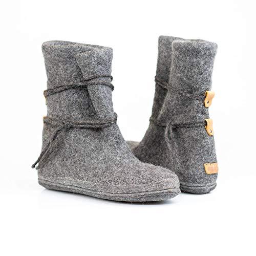 BureBure Warm Wool Boot Woollen Valenki for Women Handmade in Europe