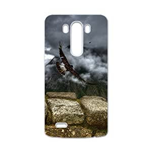 Fly To My World Eagle Hight Quality Plastic Case for LG G3