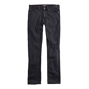 Lucky Brand Men's 7MD10294 410 Athletic Fit Destroyed Jeans Walker Lake Black