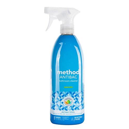 method Antibacterial Bathroom Cleaning Spray, Spearmint, 28 oz