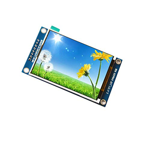 - WINGONEER 2.4 inch TFT SPI LCD Module ILI9341 Drive Color Display Panel with PCB Panel 8 pins Screen