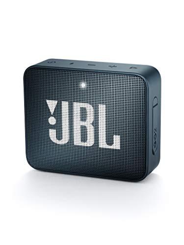 - jbl Go 2 Portable Bluetooth Waterproof Speaker (Navy)