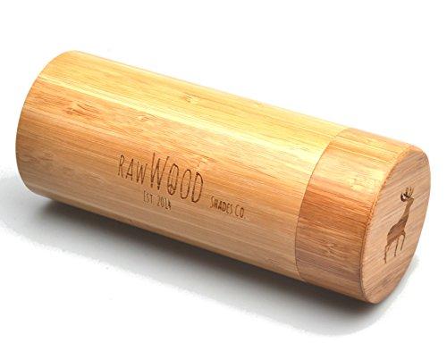 Natural En Bois Bambou Lunettes De Green RawWood Polarisées Soleil Originals XfW78wTqp
