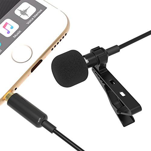 Sabrent Omnidirectional Microphone Smartphones AU SMCR