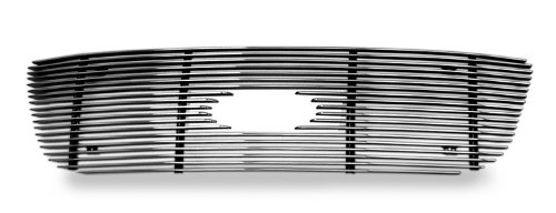 APS F65722A Polished Aluminum Billet Grille Bolt Over for select Ford F-150 Models - Aluminum Grille