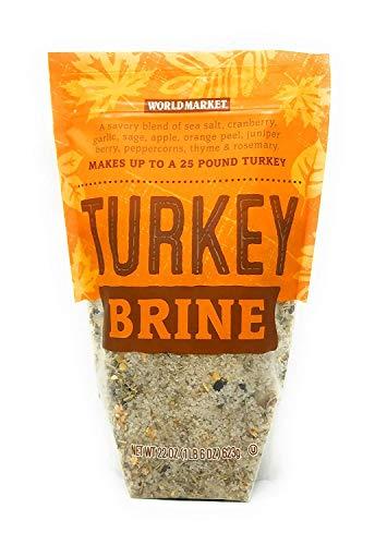 World Market Turkey Brine Mix, 22 ounce