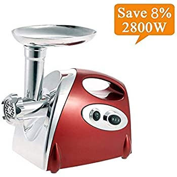 FUCUI Electric Meat Mincer Grinder and Sausage Maker,Powerful 2800 ...