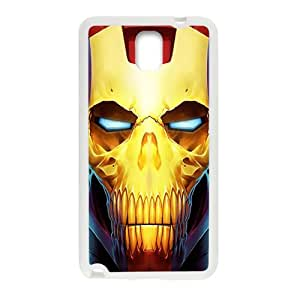 Iron Man White Phone Case for Samsung Galaxy Note3