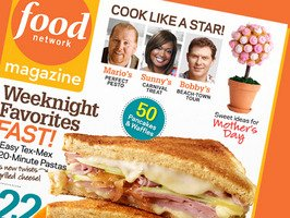 Food Network Magazine May 2010 Weeknight Favorites Fast Sweet Ideas for Mother's Day Cook with Potato Chips