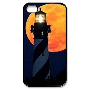 ALICASE Diy Customized hard Case Lighthouse For Iphone 4/4s [Pattern-1]
