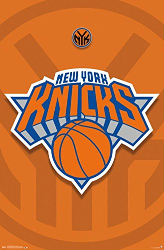 Logo Sports Poster (Trends International New York Knicks Logo Wall Poster 22.375