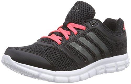 adidas Breeze 101 2 W - Zapatillas de running para mujer Negro / Rojo
