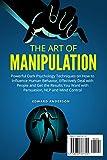 The Art of Manipulation: Powerful Dark Psychology