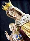 Roman Our Lady of Mt. Carmel with Child 8 Inch
