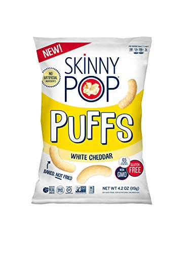 SkinnyPop Popcorn Puffs White Cheddar product image