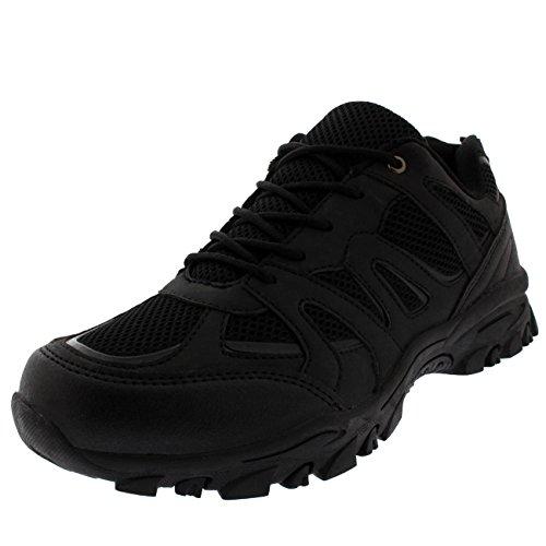 Negro Excursionismo Absorción Ligero Rambing De Libre para Hombre Caminar Aptitud Al Entrenadores Aire Impactos qHwxFtOtS