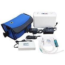 ECO-WORTHY Portable O2 Generator, Full Intelligent Home Oxygen Concentrator Generator, Air Purifier Oxygen Generatorwork 110V