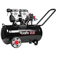 Cevik Silent Compressor 50L 1,5HP Pro CA-PRO50SILENC, zwart, 0