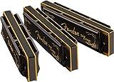 Fender Blues DeVille Harmonicas - 3-Pack - Incl. Case