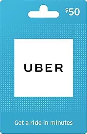 Uber Gift Card $50