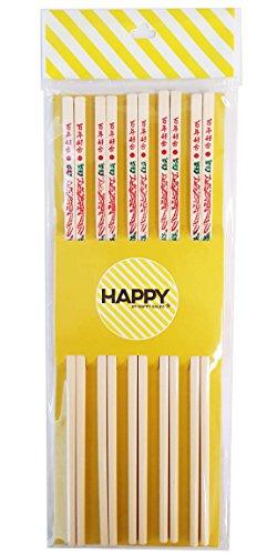 Happy Sales Commercial Grade Melamine Chopsticks 10 Pairs Dragon Design