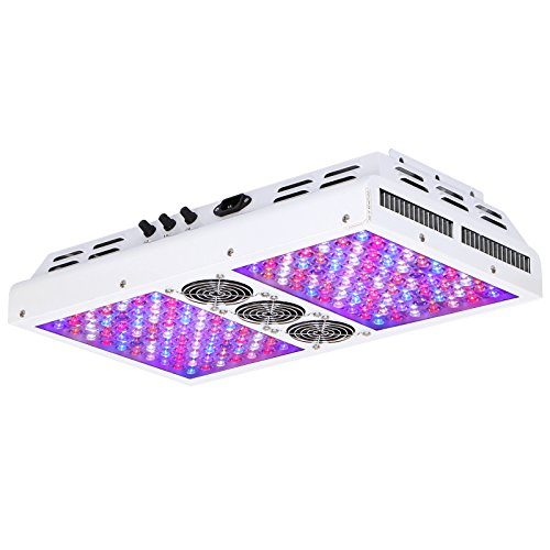 VIPARSPECTRA Dimmable Series PAR700 700W LED Grow Light - 3 Dimmers 12-Band Full Spectrum for Indoor Plants Veg/Bloom