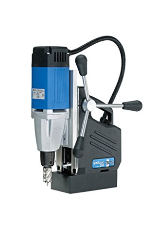 "CS Unitec MABasic 200 Portable Magnetic Drill Press: Drills up to 1-3/8"" Diameter, up to 6-1/3"" Depth of Cut, 900W, Best Power to Weight Ratio, Electronic Safety Shutoff"