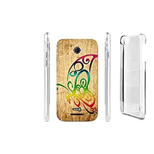 FUNDA CARCASA EFECTO MADERA TRIBAL FARF THREE PARA HTC DESIRE 510