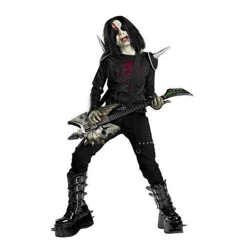 Disguise Boys Metal Mayhem Rotten Rocker Zombie Costume As Shown Child Size...]()