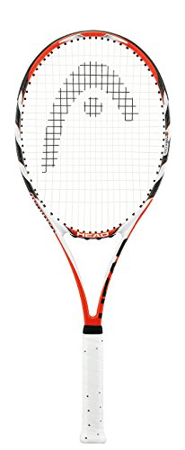 HEAD MicroGel Radical MP Tennis Racquet, Strung, 4 3/8 Inch - Racket Head