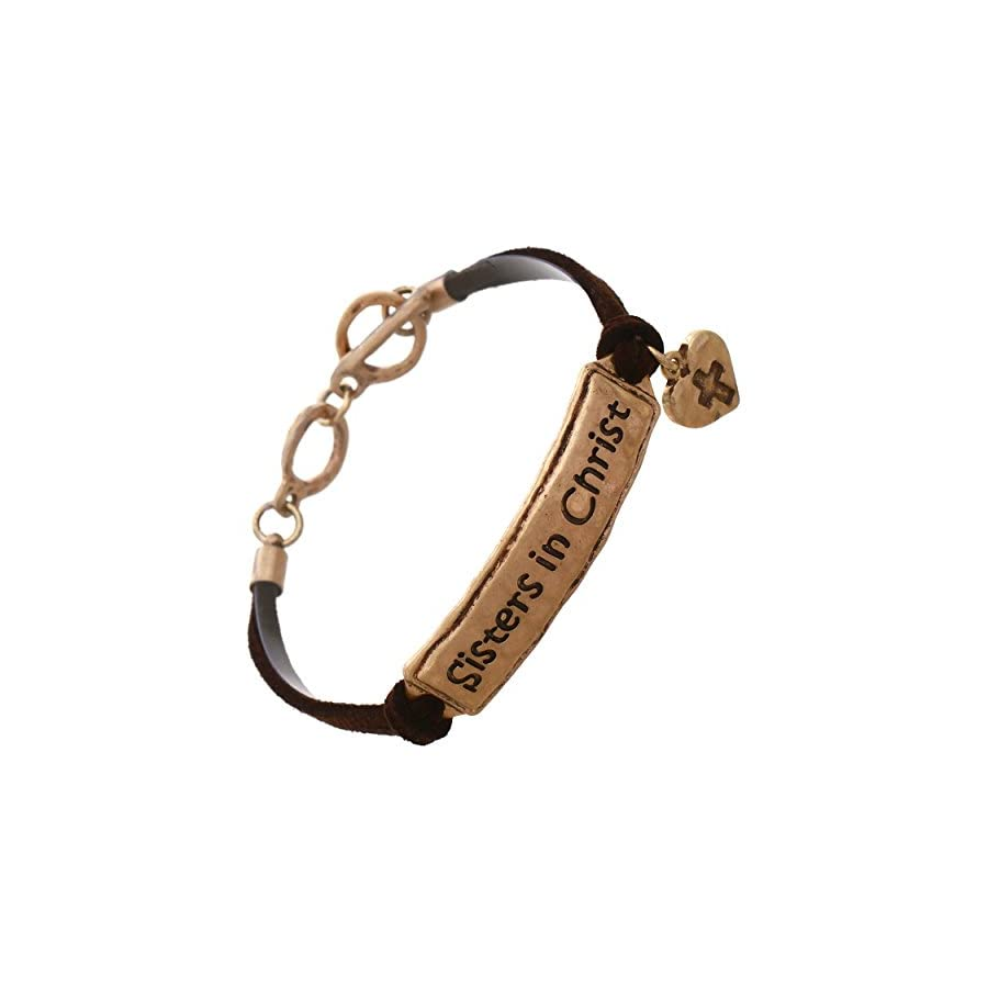 Rosemarie Collections Women's Sisters in Christ Bracelet
