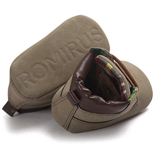 Jamicy® Leder Schuhe süße weiche Sohle Jungs Mädchen Kinderbett Schuhe