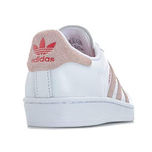 Superstar Baskets Adidas Blanc Femme Originals PR4WwqzATE