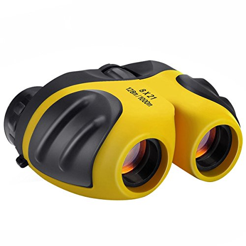 TOPTOY 3-12 Year Old Boy Toys, Compact Binoculars for Kids Toys for 3-12 Years Old Girls Gifts for 3-12 Year Old Girls Boys 2018 Yellow TTUSTTA03