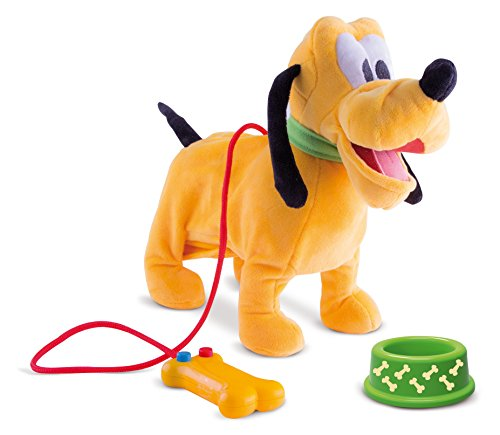 Disney Mickey Mouse Clubhouse Walking Pluto With Barking Sounds (Mickey Walking Mouse)